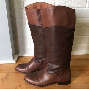 Corso Como Knee Length Leather Riding Boots!